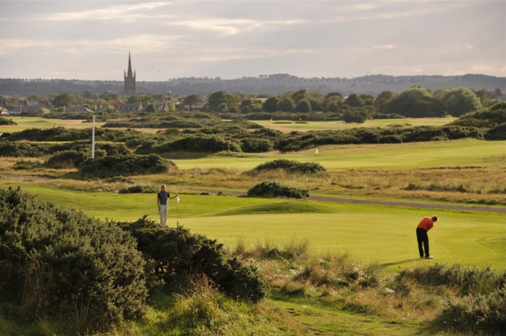 Montrose Medal is one of the courses hosting a golf tournament during Carnoustie Country Festival of Golf.