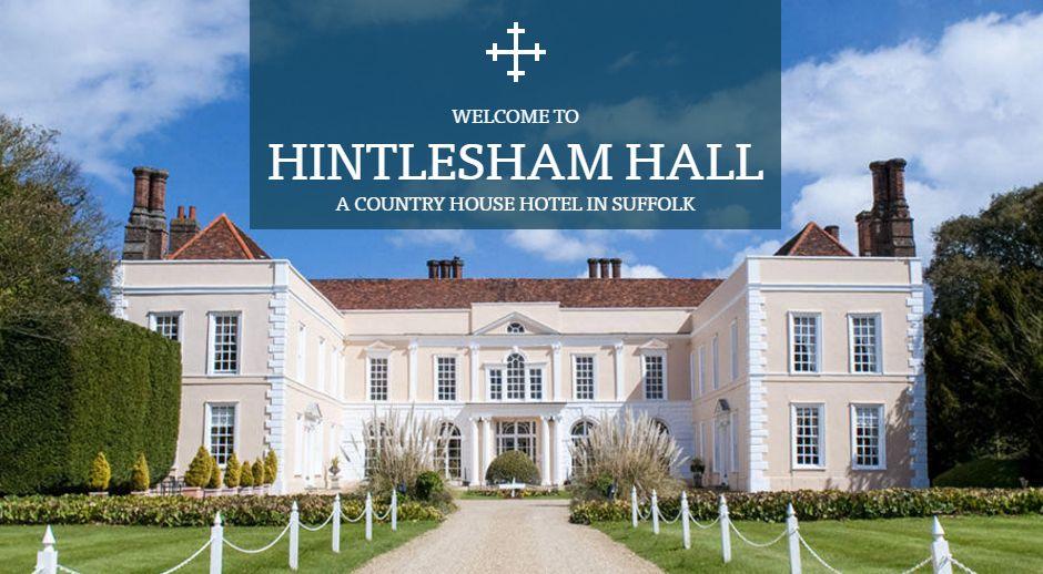 Hintlesham Hall Exterior