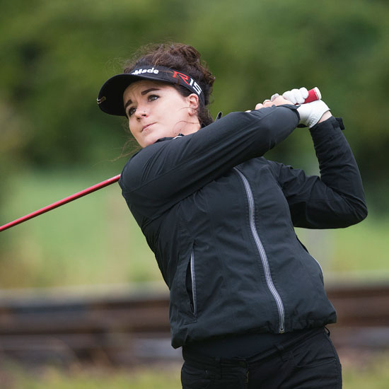 Emma Allen (Meon Valley) shoots 66 to lead (Image © Leaderboard Photography)