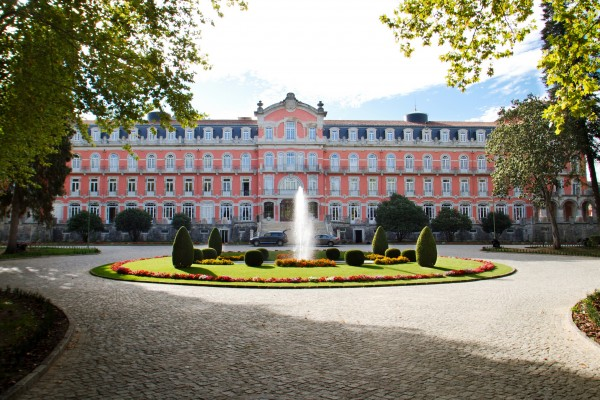 Vidago Palace is one of the many fine golf resorts on the Portugal Golf & Luxury Tourism itinerary.