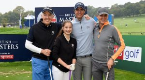 from left, Mike Durkin, Hannah Golding, Nicolas Colsaerts and Neil Garbutt.