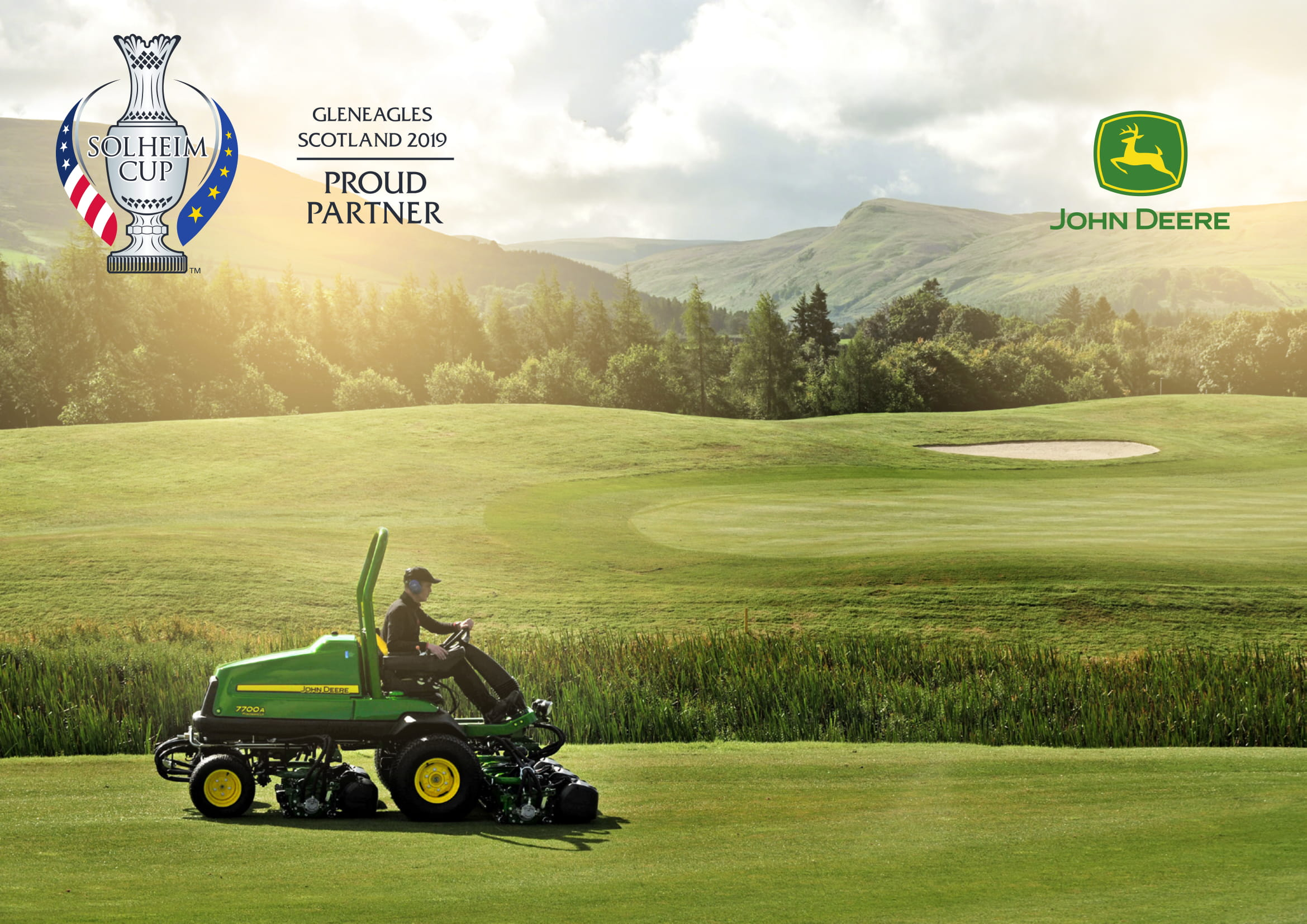 John Deere To Partner 2019 Solheim Cup At Gleneagles