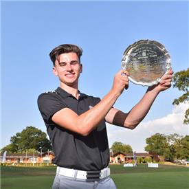 Stoke Park's Conor Gough was the third player to win the Reid and McGregor Trophy