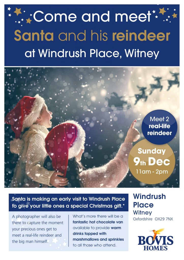 Bovis Homes Witney Santa Event 9th December 2018