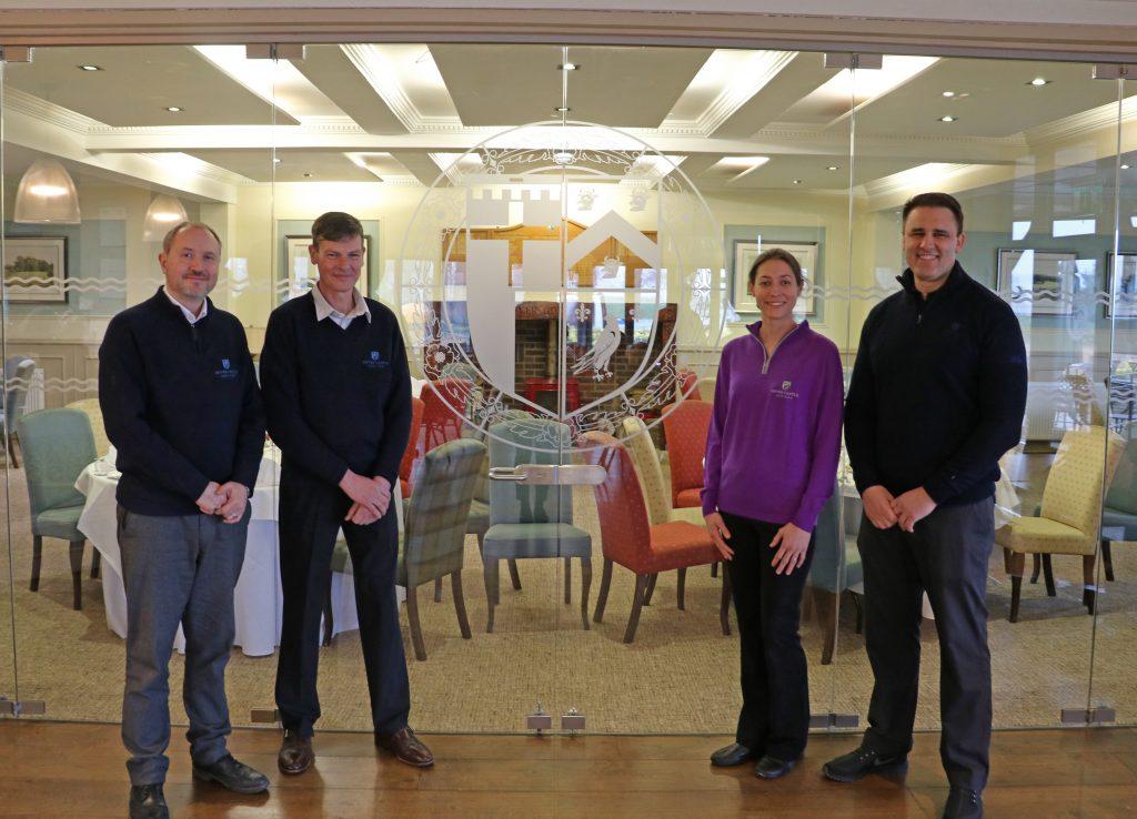 Jon Wittenberg, Paul Moody, Gemma Horne and Chris Green. Image credit Hever Castle & Gardens