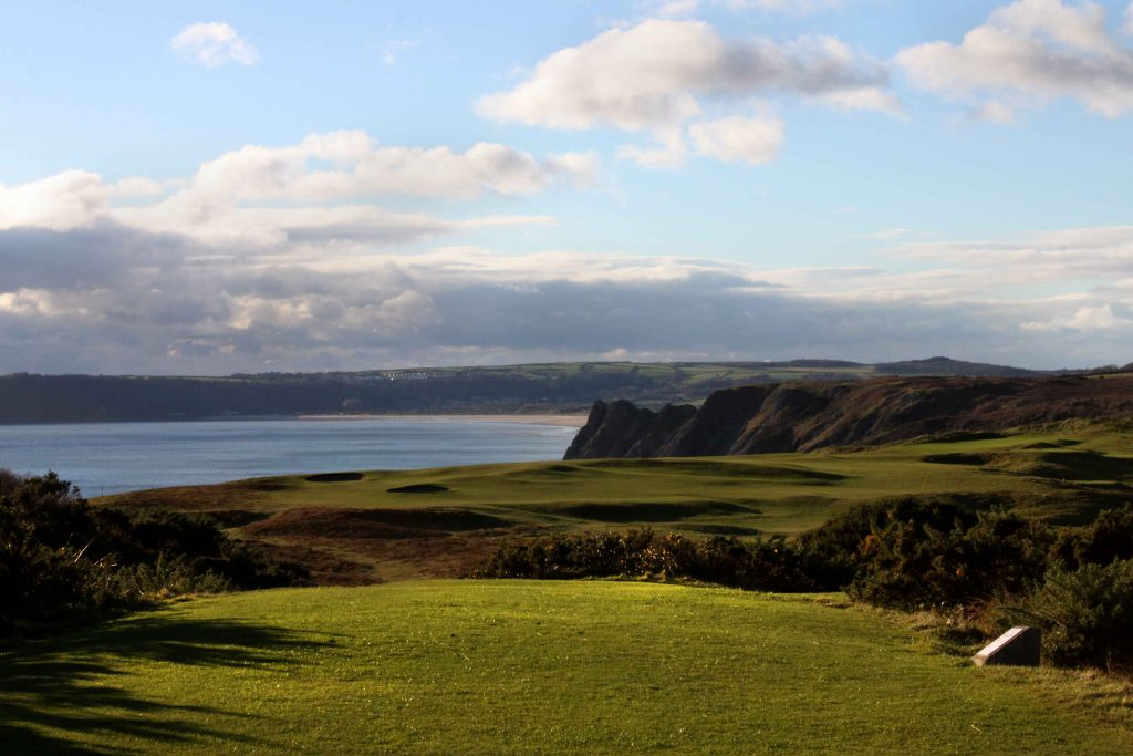 Pennard Golf Club 16th Tee