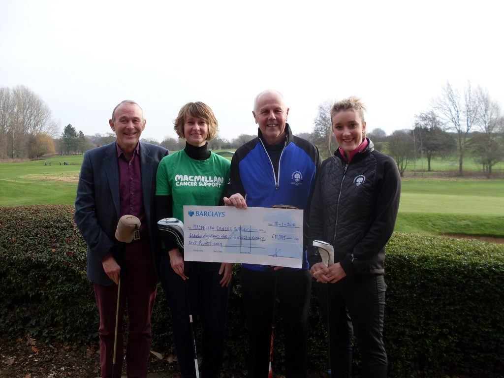 Success For Macmillan Charity Golf Day At Barnham Broom