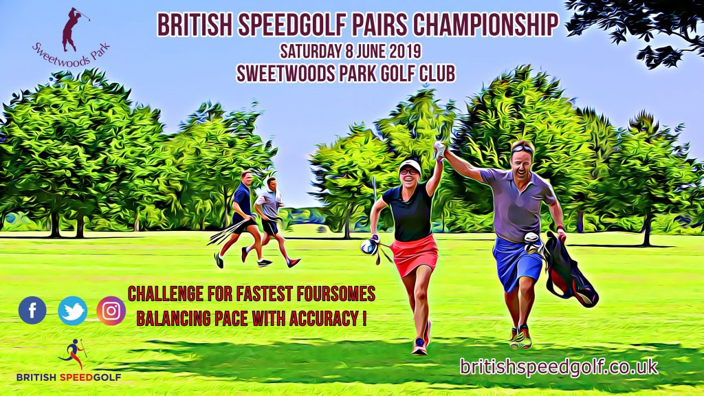 2019 British Speedgolf Pairs Championship Announced at Sweetwoods Park Golf Club