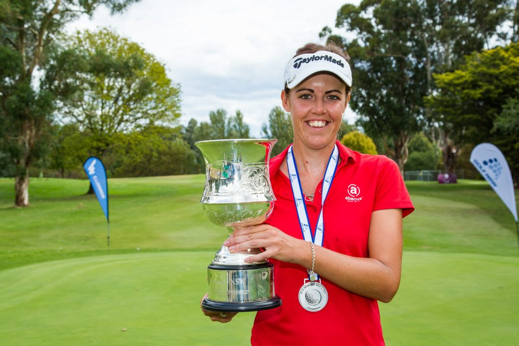 Meghan MacLaren the 2019 winner of the New South Wales Open