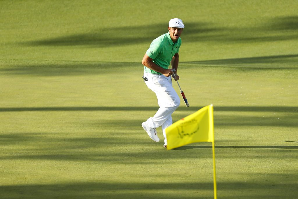 Bryson DeChambeau shot 66 in the first round of the 2019 Masters at Augusta