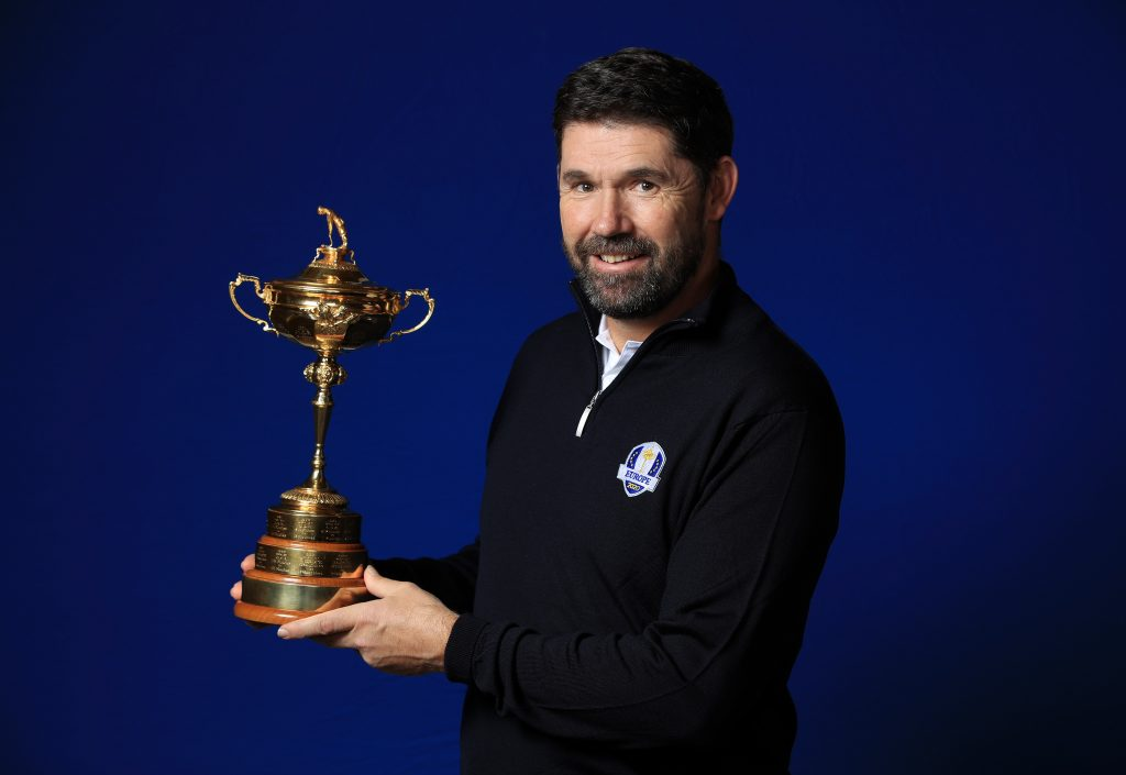 EUROPE'S 2020 Ryder Cup captain Padraig Harrington accidentally named Luke Donald as a vice-captain