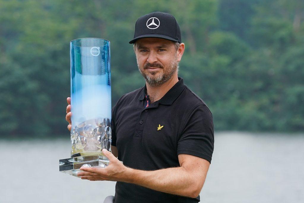 2019 Volvo China Open winner Mikko Korhonen – the 2020 tournament has been postponed because of the Corona-virus