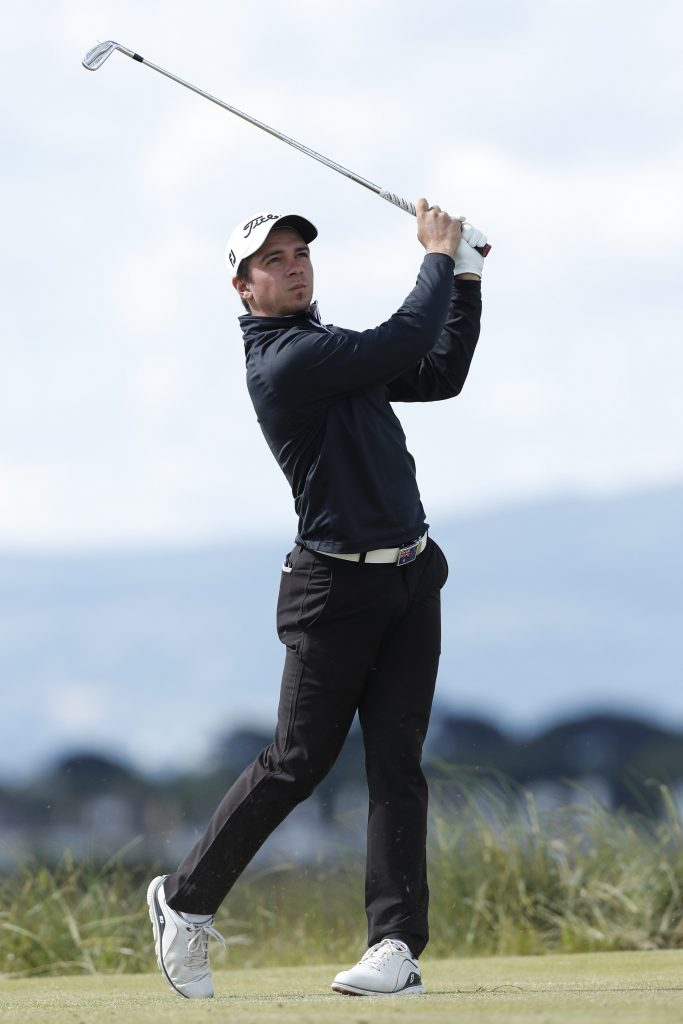 Australian David Micheluzzi is through to the third round of the 2019 Amateur Championship at Portmarnock