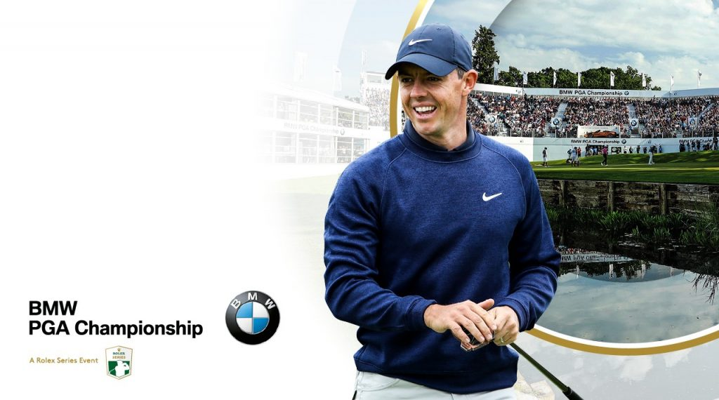 Rory McIlroy who has confirmed he will play in the 2019 BMW PGA Championship at Wentworth