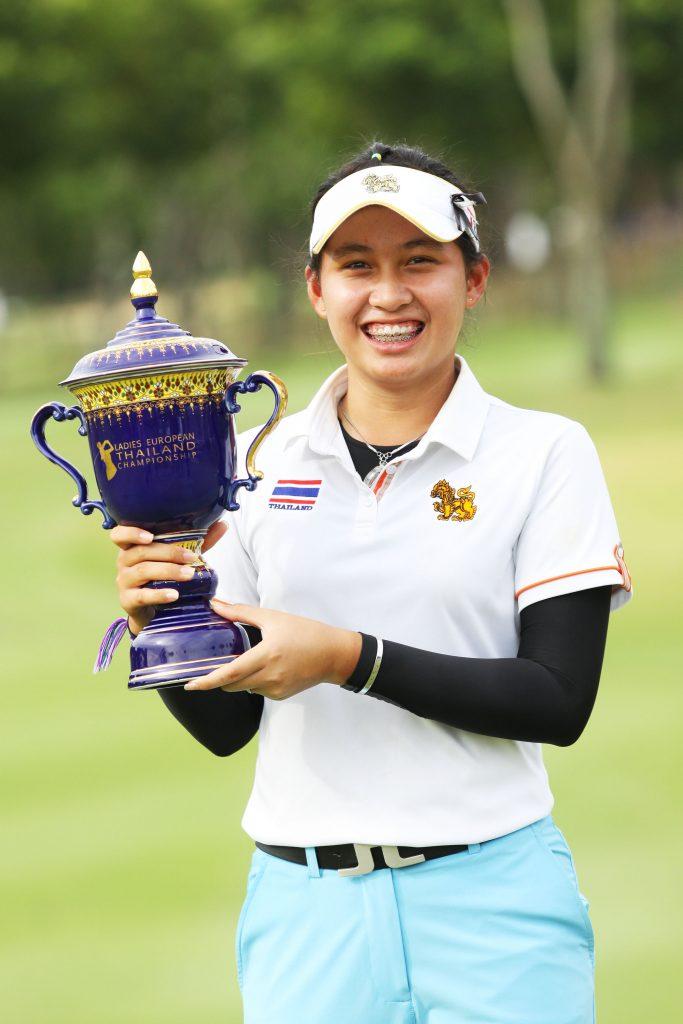 Atthaya Thitikul – winner of the 2019 LET Thailand Championshi