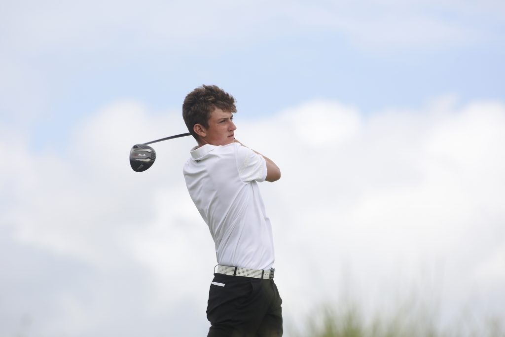 Hallamshire's England junior international golfer Barclay Brown