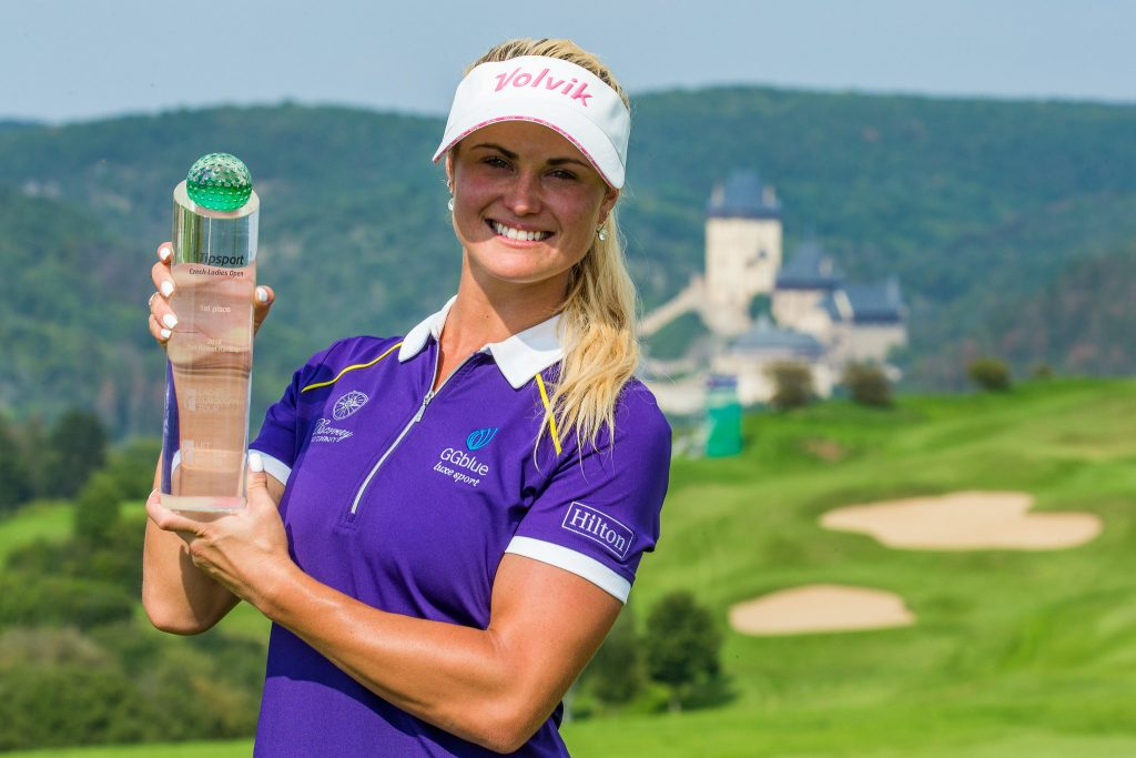 Scotland's Carly Booth winner of the 2019 Tipsport Czech Ladies Open