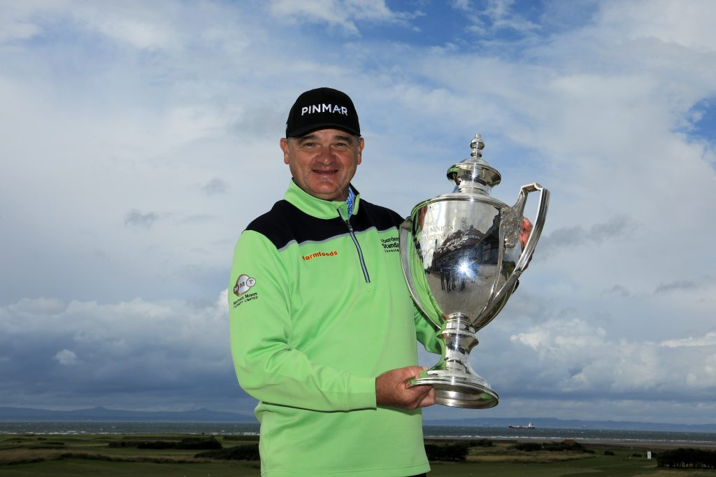 2019 Scottish Seniors Open winner Paul Lawrie