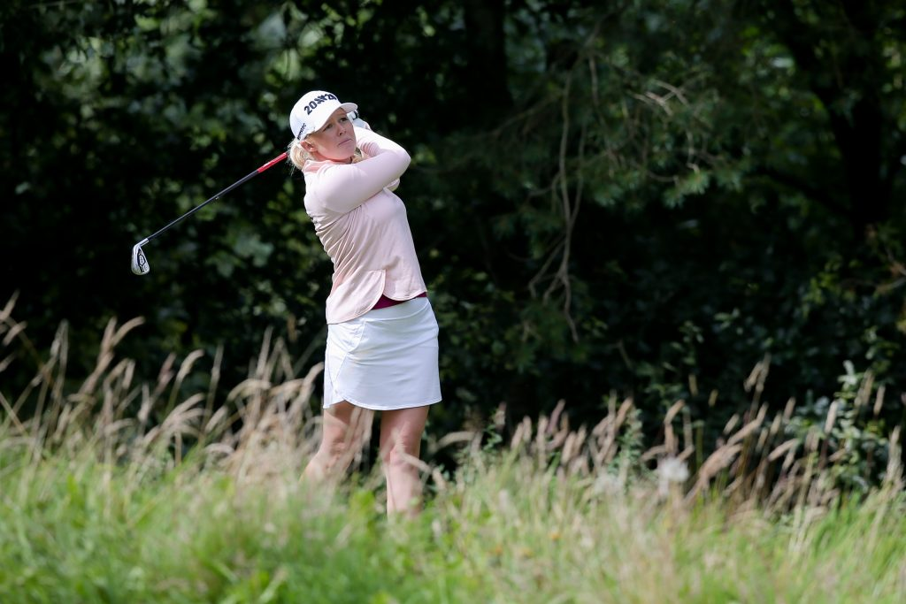 Northern Ireland's Symetra Tour winner Stephanie Meadow at Galgorm Castle