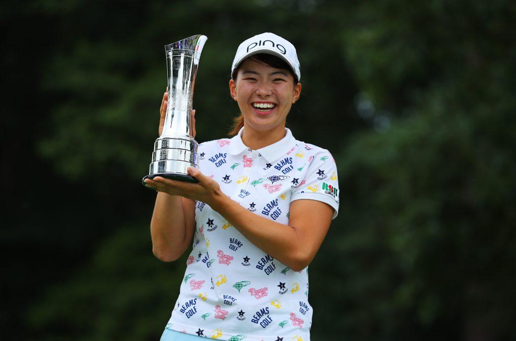 Japan's Hinako Shibuno the 2019 AIG Women's British Open winner at Woburn