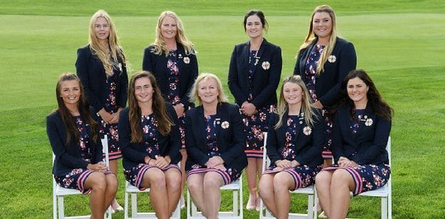 The 2018 Great Britain and Ireland Curtis Cup Team