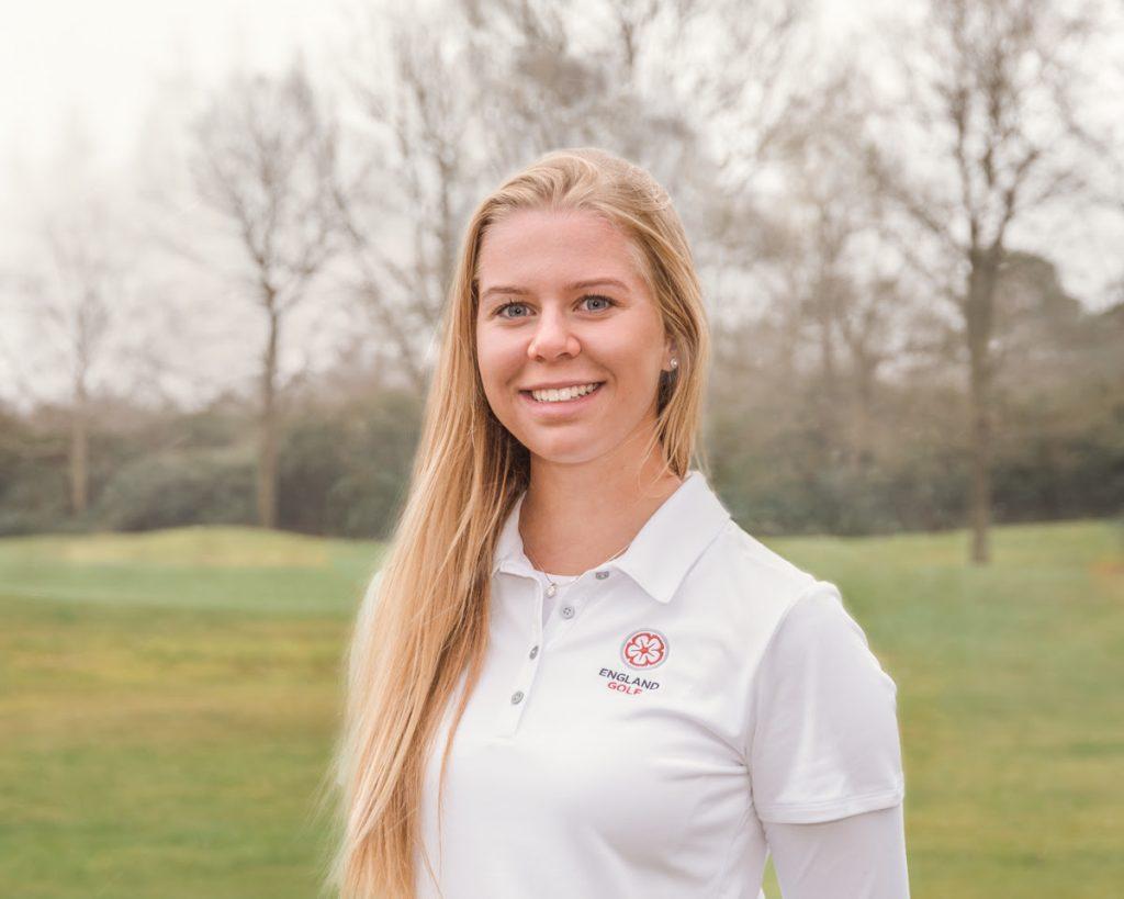 Roehampton's England junior internatinonal golfer Annabel Fuller