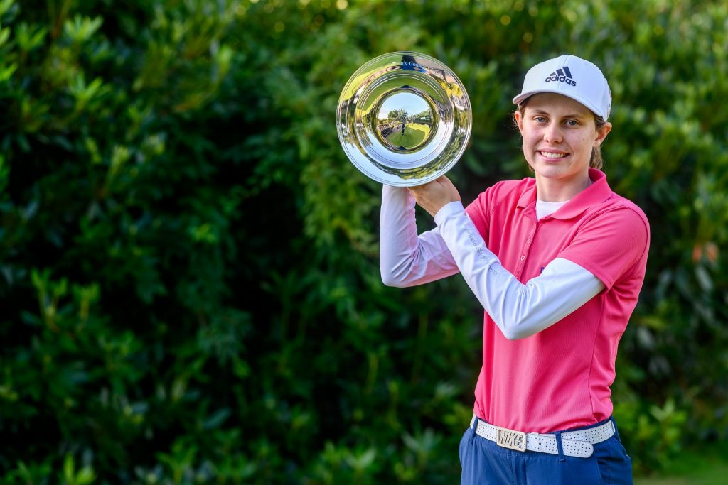 Prestbury's Bel Wardle the 2019 English County Champion of Champions
