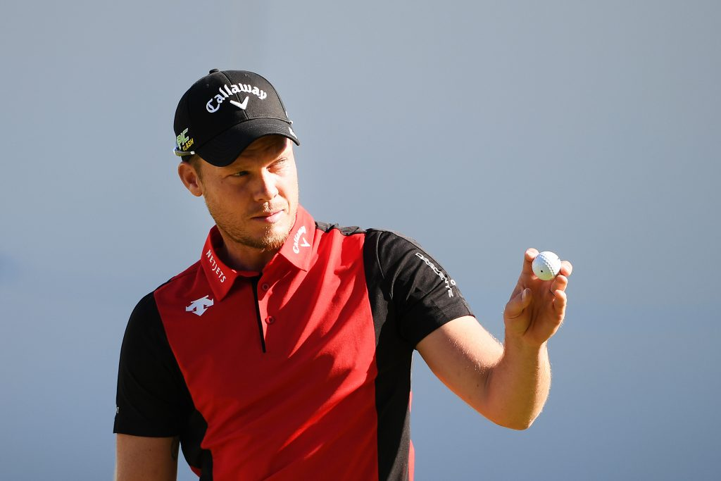 Danny Willett in the seocnd round of the 2019 BMW PGA Championship at Wentworth