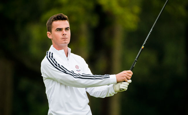 Malton and Norton Golf Club's England international David Hague