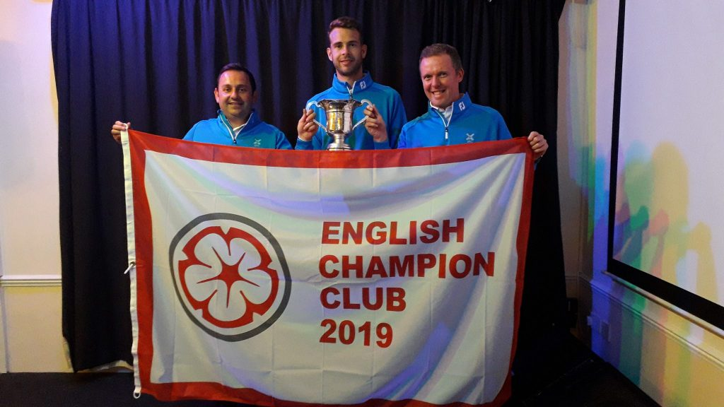 2019 English Champion Club winners City of Newcastle