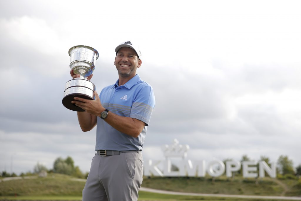 2019 KLM Open winner Sergio Garcia