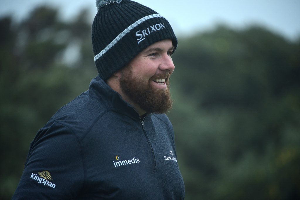 Shane Lowry at St Andrews for the 2019 Dunhill Links