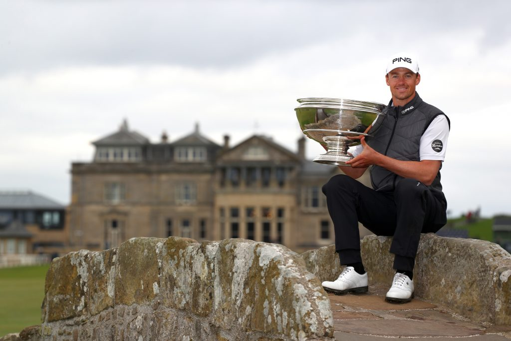 2019 Alfred Dunhill Links winner Victor Perez