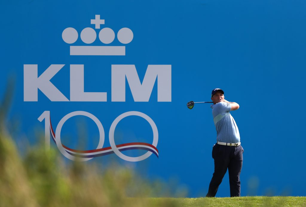 Moor Park's Callum Shinkwin shot a six-under 66 in the 2019 KLM Open first round