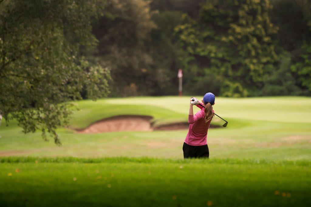 Women and girls have been encouraged to play more by England Golf
