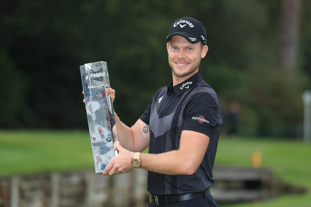 2019 BMW PGA Champion Danny Willett