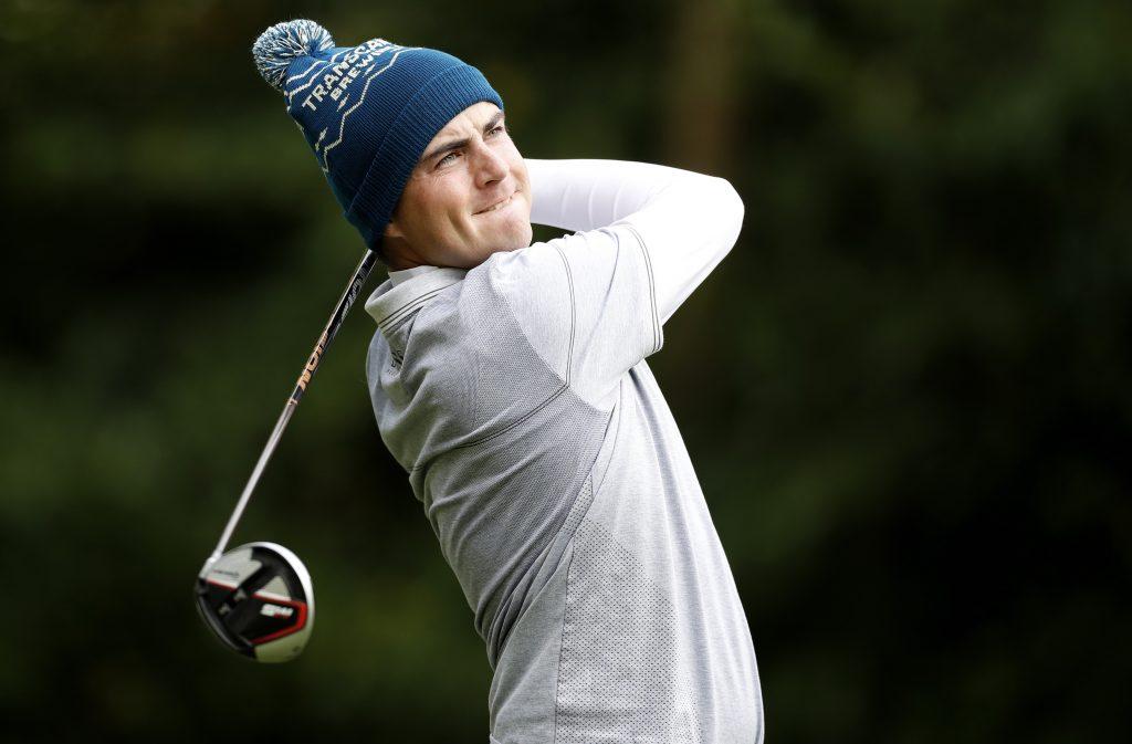 Aaron Cockerill playing in the 2019 Stone Irish Challenge