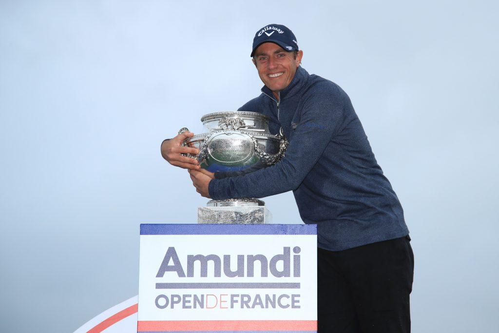 2019 Amundi Open de France winner Nicolas Colsearts