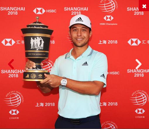 2018 WGC-HSBC Champion Xander Schauffele