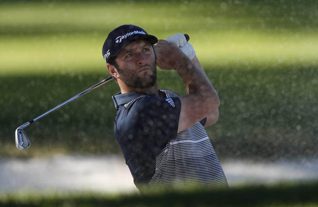Jon Rahm during practice for the 2019 Spanish Open