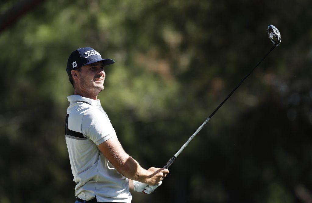 Kristian Krogh-Johannessen the first round leader of the 2019 Spanish Open