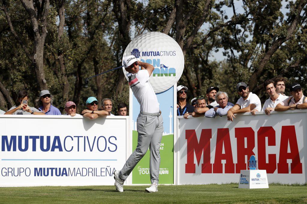 Rafa Cabrera-Bello in the second round of the 2019 Spanish Open