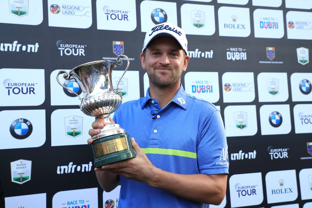 2019 Italian Open winner Bern Wiesberger