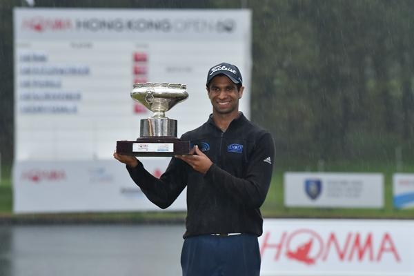 2018 Hong Kong Open winner Aaron Rai