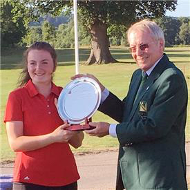 2018 Sir Henry Cooper Junior Masters winner Charlotte Heath
