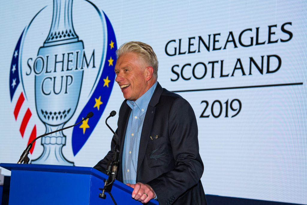 Ladies European Tour former chief executive Mark Lichtenhein at the 2019 Solheim Cup