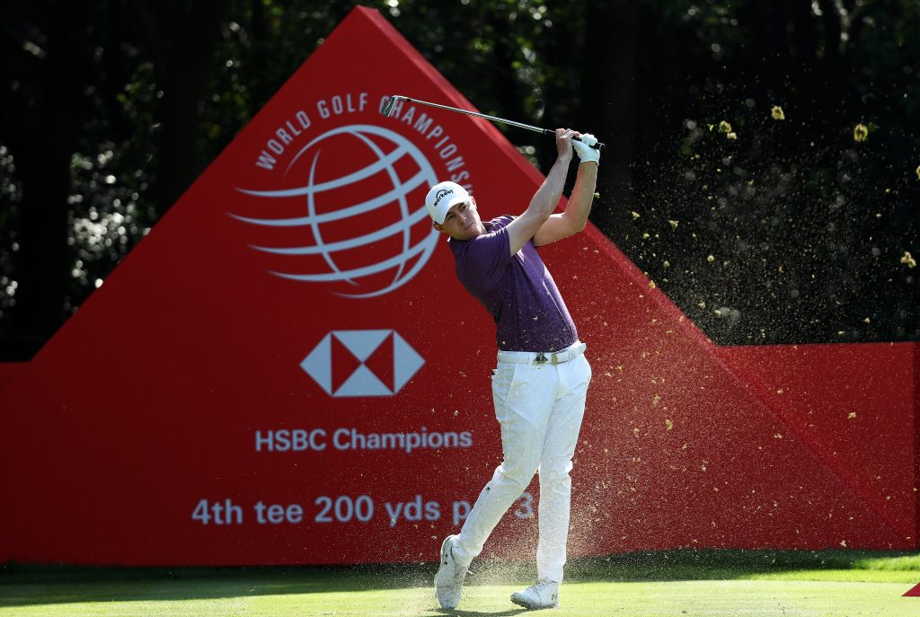 Matt Fitzpatrick in the second round of the 2019 WGC-HSBC Champions, at Shenzen International