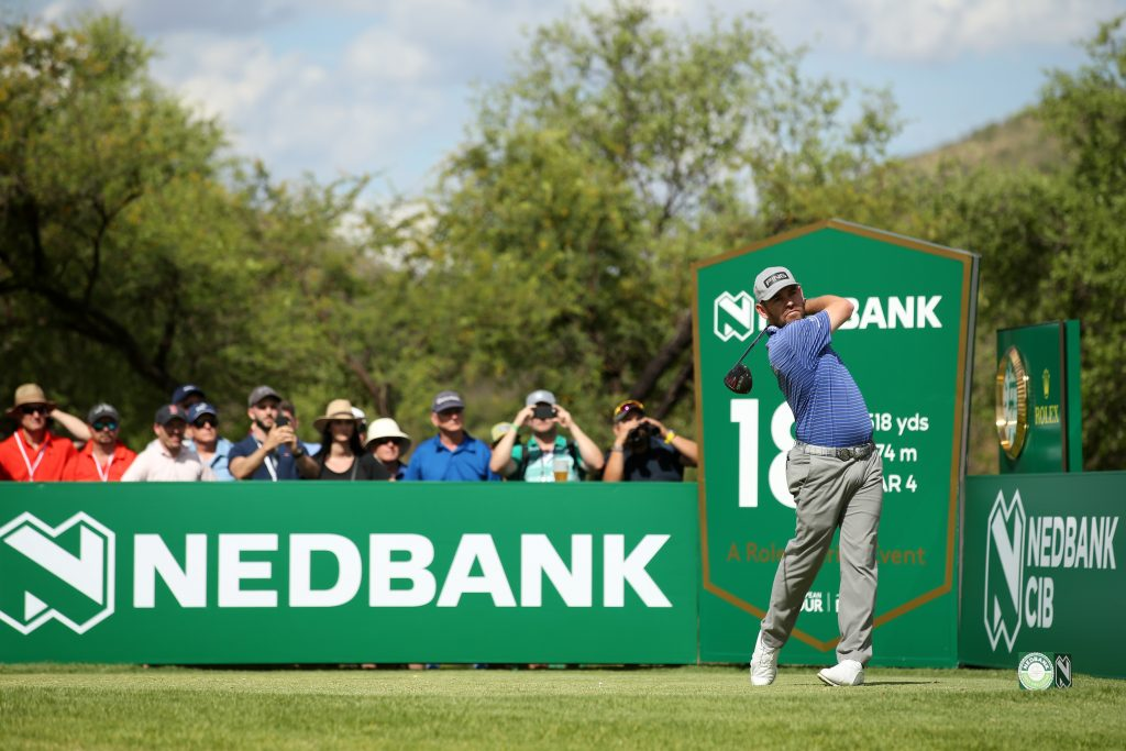Louis Oosthuizen leader of the Nedbank Golf Challenge after a first-round 63