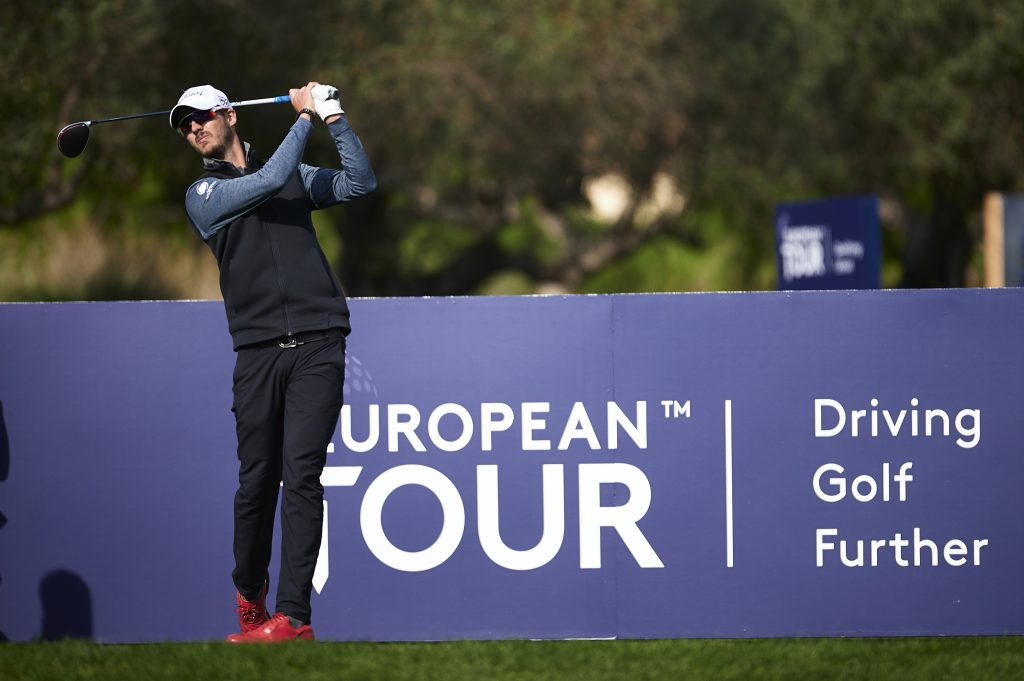 BENJAMIN POKE PLAYING IN THE FOURTH ROUND OF THE 2019 EUROPEAN TOUR QUALIFYING SCHOOL