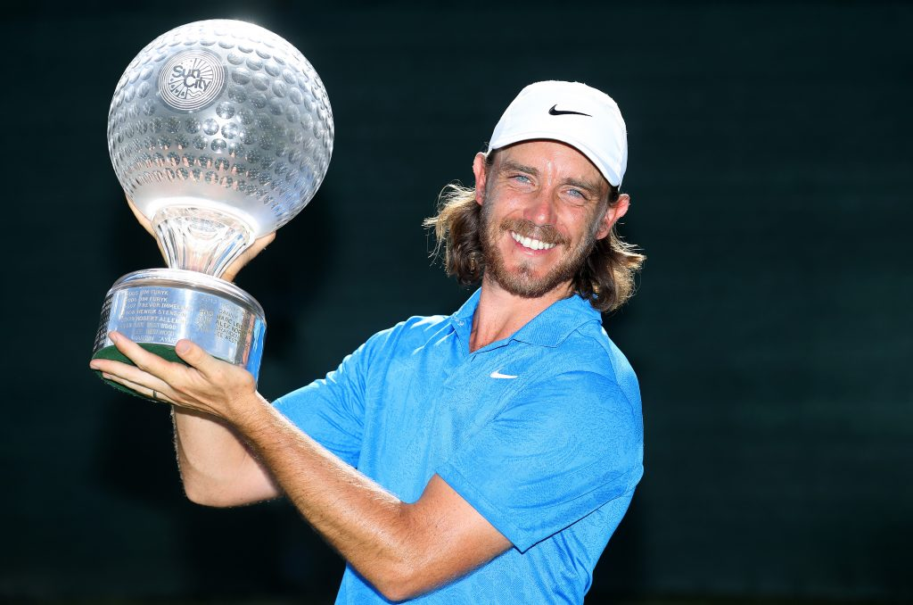 2019 Nedbank Golf Challenge winner Tommy Fleetwood